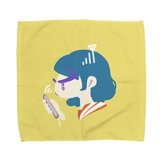 お電波JK Towel handkerchiefs