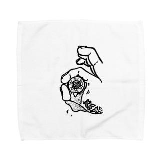 全てを見透かす目 Towel handkerchiefs