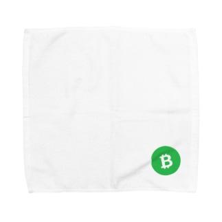 BCH ビットコインキャッシュ5 Towel handkerchiefs