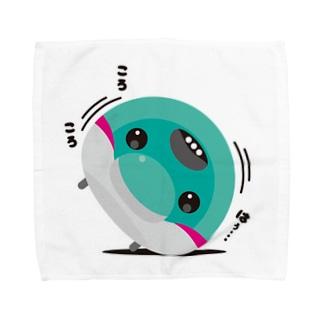 まるレール|はやぽん Towel handkerchiefs