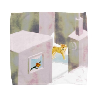 広場 Towel handkerchiefs
