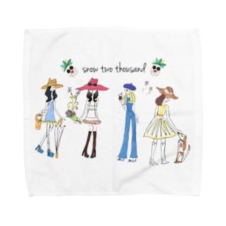 HAPPY GIRLS Towel handkerchiefs