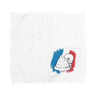 ひょこりビション 夏 Towel handkerchiefs