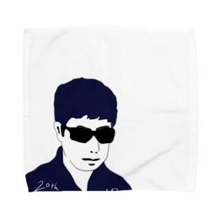グラサン男 Towel handkerchiefs