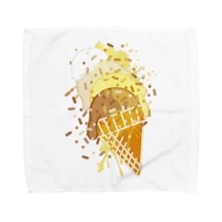 Ice_Cream Towel handkerchiefs
