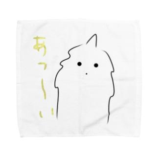 猫力(CAT POWER)のモケモケ1 Towel handkerchiefs