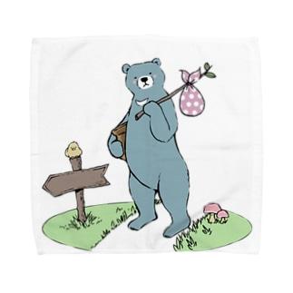 お引越しつっきー Towel handkerchiefs