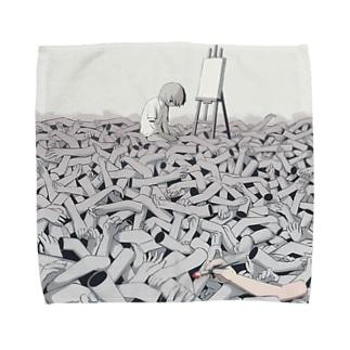 スランプ Towel handkerchiefs