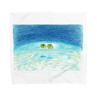海のランデブー Towel handkerchiefs