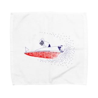 ボートレース Towel handkerchiefs