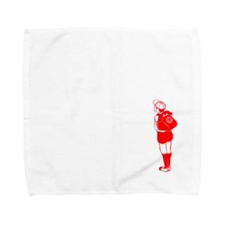 チャクシンナシ Towel handkerchiefs