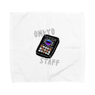 音響スタッフ Towel handkerchiefs