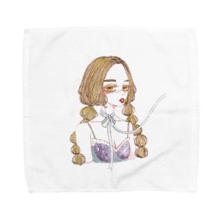 bow02 Towel handkerchiefs
