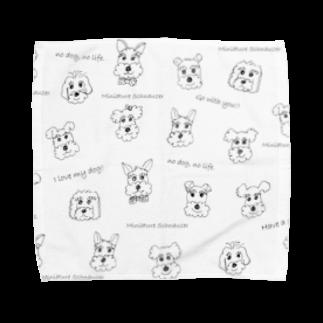 tsuchimikiのシュナシュナ Towel handkerchiefs