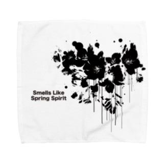 春が漏れてる Towel handkerchiefs