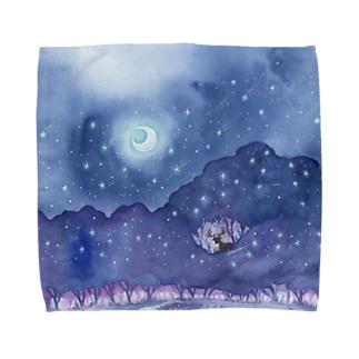 星降る森 タオルハンカチ