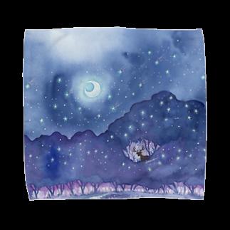 Rosemary*Teaの星降る森 Towel handkerchiefs