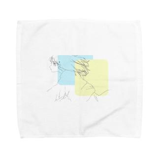 レモンスカッシュ Towel handkerchiefs