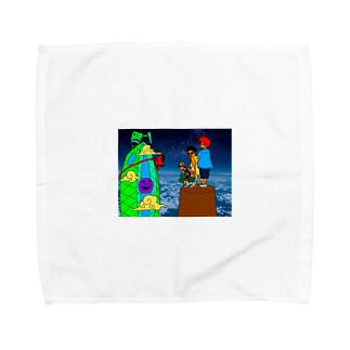 イケてるてぃしゃつ Towel handkerchiefs