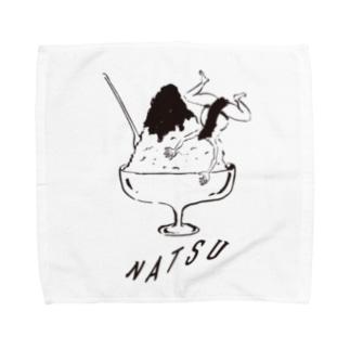 NATSU-hand towel Towel handkerchiefs