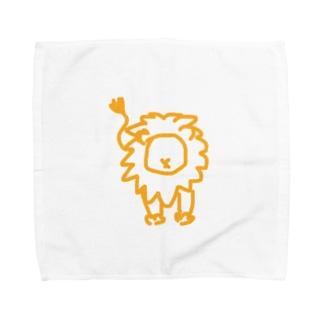 ひゃくじゅうの王 Towel handkerchiefs