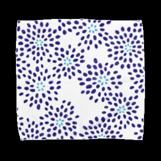 カルショップの夏っぽい柄のタオルハンカチ タオルハンカチ