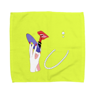 piorのミラー Towel handkerchiefs