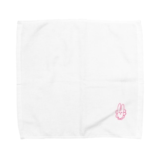 ダサうさぎさん Towel handkerchiefs