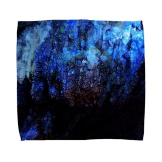 鍾乳洞のカケラ Towel handkerchiefs