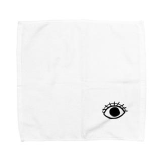私のおめめ Towel handkerchiefs