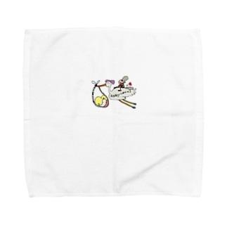幸運の赤ちゃんを運びます👶 Towel handkerchiefs