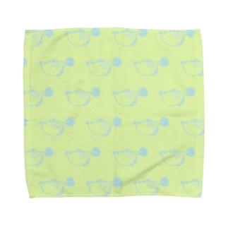 フグ Towel handkerchiefs
