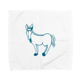 ロバ Towel handkerchiefs