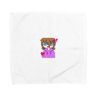 先輩に恋人居た Towel handkerchiefs
