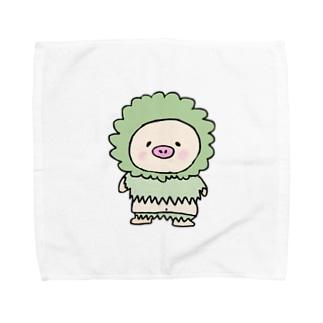 フワフワキートン Towel handkerchiefs