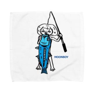 ムーンボーイ タオル Towel handkerchiefs