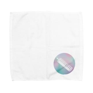 ゆnovationの鍵ハモ Towel handkerchiefs