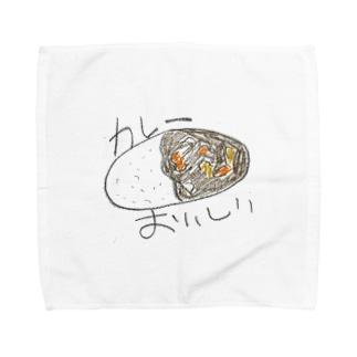 カレー Towel handkerchiefs