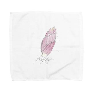 ミョウガ Towel handkerchiefs
