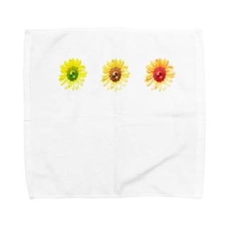 向日葵さんさん Towel handkerchiefs