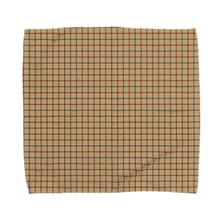 チェック002 Towel handkerchiefs