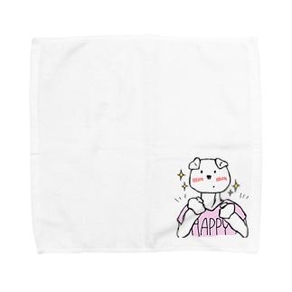 謎のいきもの・ikemen Towel handkerchiefs