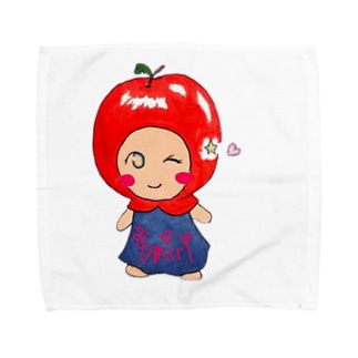 ういんくえみりんごちゃん タオルハンカチ