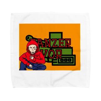 たろ〜ちゃん Towel handkerchiefs