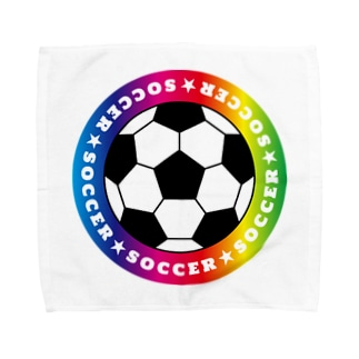 soccer VVcup タオルハンカチ