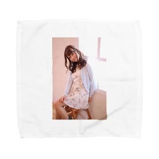 いつでも、どこでも成美と一緒 Towel handkerchiefs