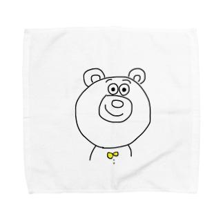 くままん Towel handkerchiefs