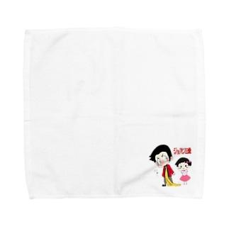 親子イラストグッズ Towel handkerchiefs