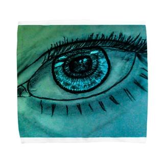 カラコン Towel handkerchiefs