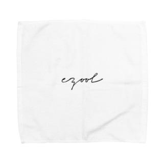 ezoolシンプルロゴ Towel handkerchiefs